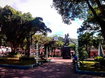 Plaza Bolivar de Cordero