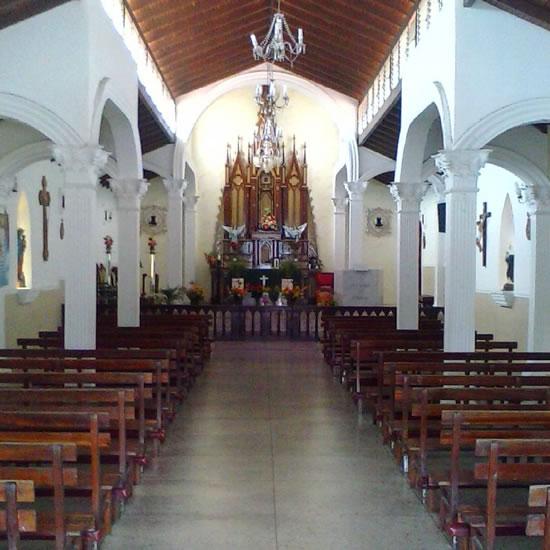 Altar de la Capilla de Monte Carmelo