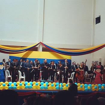 Concierto de la Orquesta Simón Bolívar del Táchira