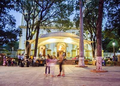 Plaza Bolívar de San Antonio del Táchira