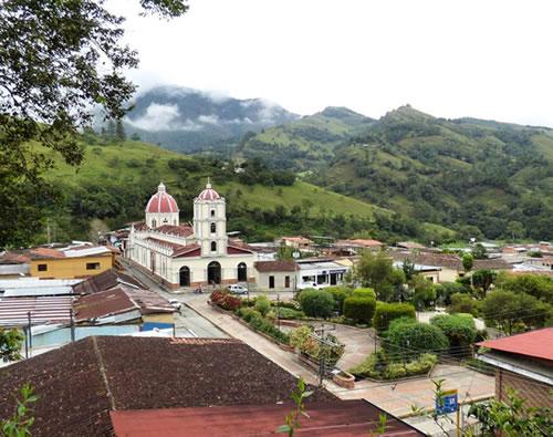 Foto del pueblo de Canaguá