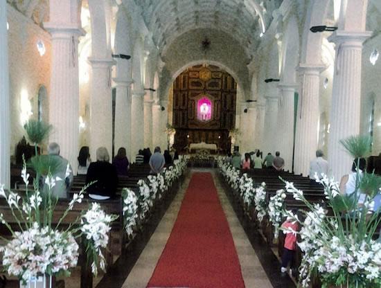 Interior de basílica